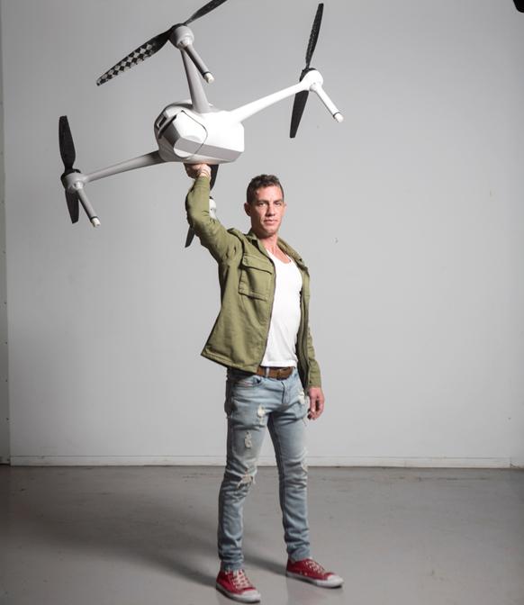 רן קראוס, בעלי חברת איירובוטיקס, צילום: תומי הרפז