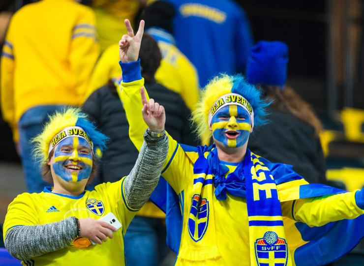 מקום שישי - שבדיה