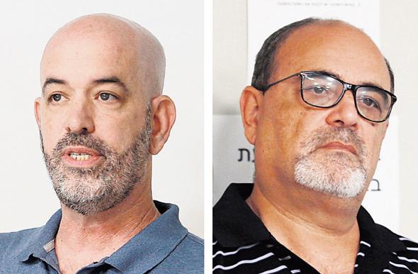 """יו""""ר מטומי סמי תותח ומנכ""""ל מטומי ליעם גלין, צילום: אוראל כהן"""
