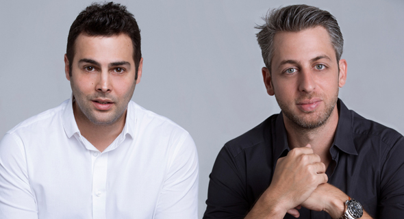 Hotelmize co-founders Omry Litvak (left) and Dor Krubiner. Photo: PR