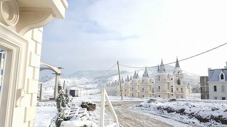 כפר הווילות בחורף