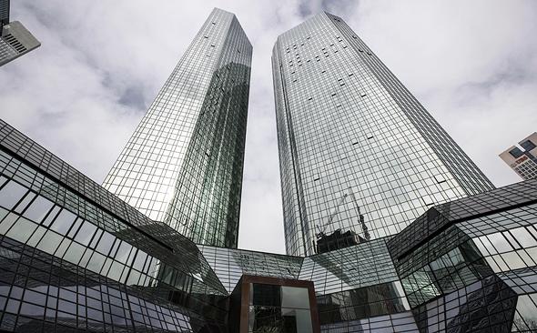 מטה דויטשה בנק בפרנקפורט, צילום: אי פי איי