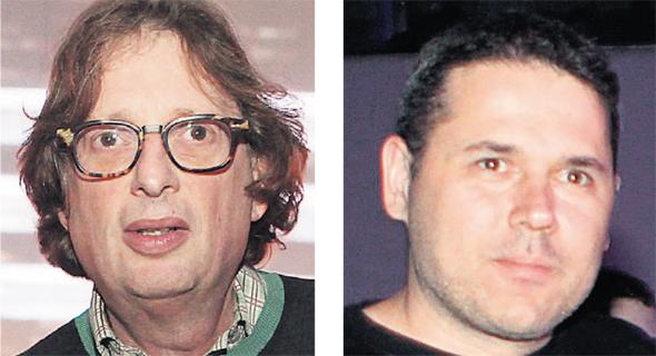 מימין: דורון ומוקי שניידמן, בעלי השליטה בצור שמיר, צילום: אוראל כהן