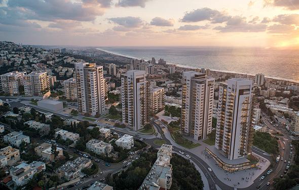 הפרויקט במתחם אמיל זולא. 700 דירות חדשות בפינוי-בינוי