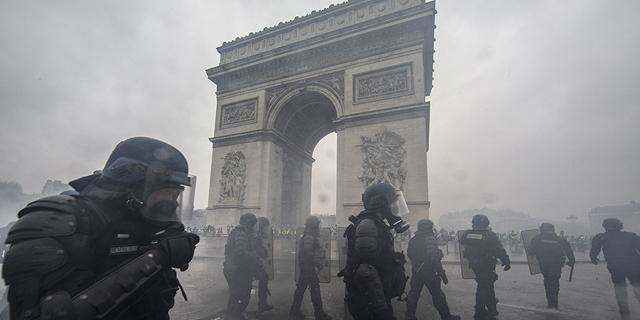 אין כדורגל, אין עסקים: פריז נערכת למהומות