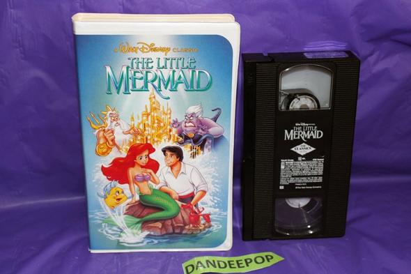 וידיאו VHS בת הים הקטנה דיסני איביי , צילום: eBay