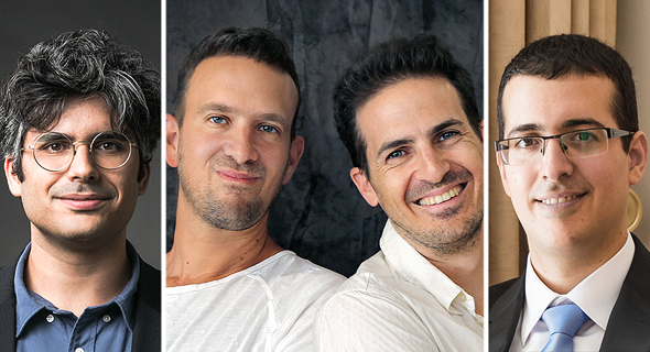 Or Hiltch (left), Matteo Shapira, Aviv Shapira, and Ofir Shalem