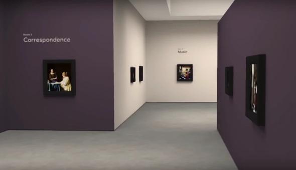 גוגל אמנות יוהנס ורמר מוזיאון תערוכה, צילום:google Arts and culture