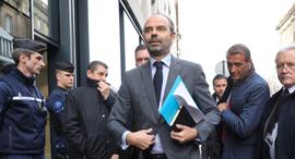 ראש ממשלת צרפת אדואר פיליפ מחאת האפודים הצהובים, צילום: איי אף פי