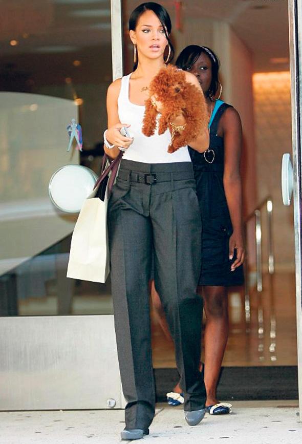 הבחירה של ריהאנה. מיצבה את המותג כאופנת סטריט לצעירים, צילום: גיל  נחושתן