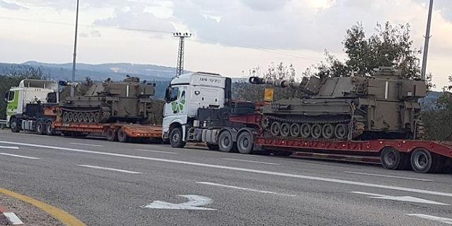 """כוחות צה""""ל עולים לצפון, צילום: יואב זיתון"""