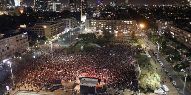 In Tel Aviv, Thousands Protested Violence Against Women
