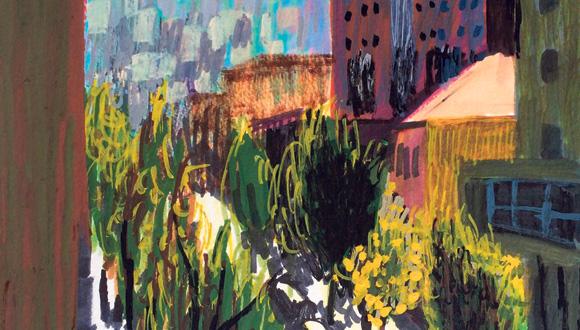 ציור של העיר חיפה, איורים: אנה לוקשבסקי