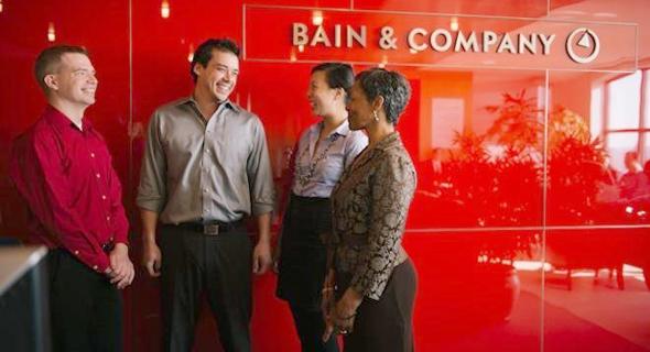 חברת הייעוץ ביין אנד קומפני - זהו מקום העבודה שהדיח את פייסבוק מהמקום הראשון, צילום: Glassdoor