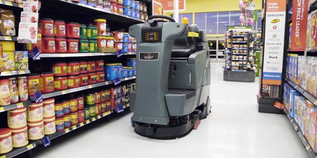 רובוטי ניקיון יתחזקו את סניפי וולמארט ויאספו מידע