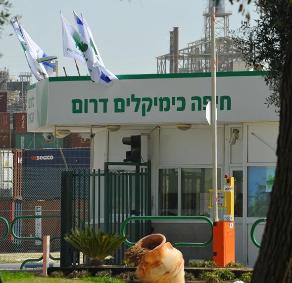 הקמת מפעל לייצור אמוניה של חיפה כימיקלים