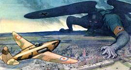 הקברניט מלחמת העולם השנייה הקרב על בריטניה, צילום: (1940 leslie lliligworth (punch
