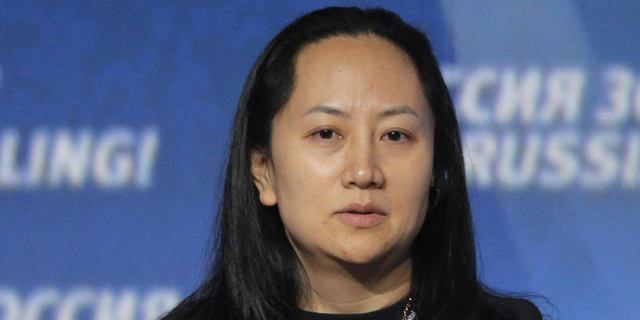 מנג וואנזו בתו של מייסד וואווי, צילום: אי פי איי