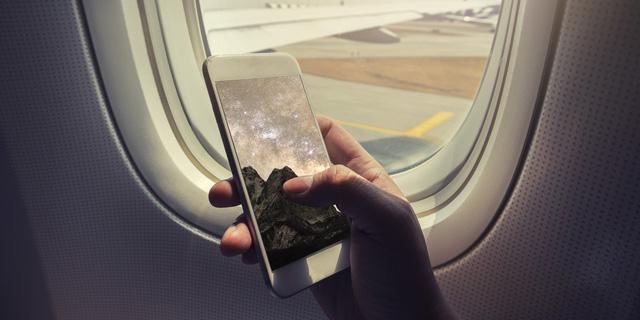 לא העברתם את הטלפון למצב טיסה? זה עלול לכאוב לכם בכיס