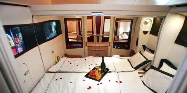 זה לא חדר במלון מפואר - זה מושב במטוס