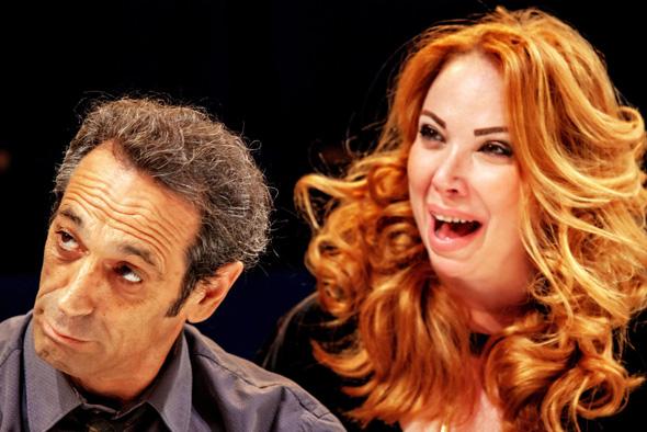 מאיה מעוז וגיל פרנק כג'ורג' ומרתה. דמויות שונות מאלה שכבר ראינו