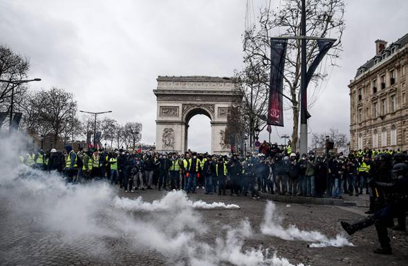 שער הניצחון, פריז, צילום: איי אף פי
