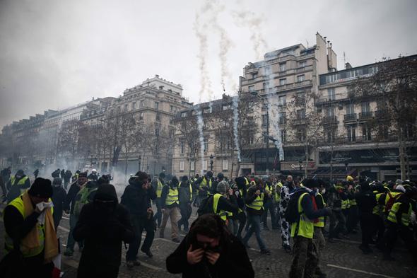 פריז היום, צילום: איי אף פי