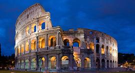 פוטו פלאים ארכיטקטוניים קולוסיאום רומא