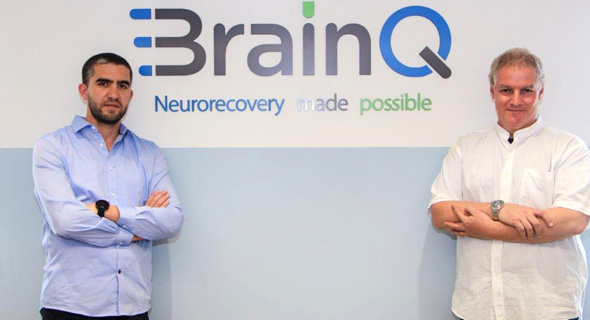 BrainQ co-founders Yotam Drechsler (left) and Yaron Segal. Photo: PR
