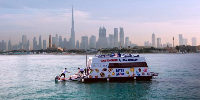 חדש בדובאי: שירות סופרמרקט עד היאכטה בלב ים