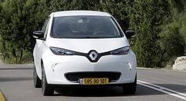 מבחן רכב רנו זואי 110R רכב חשמלי, צילום: עמית שעל