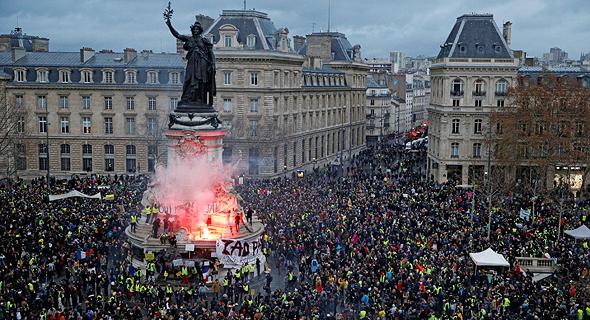 הפגנת האפודים הצהובים בפריז. היסטוריה מפוארת של כעס