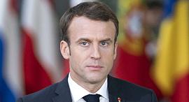 עמנואל מקרון נשיא צרפת 9.12.18, צילום: בלומברג