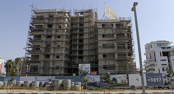 בנייה במסגרת מחיר למשתכן (ארכיון), צילום: עמית שעל