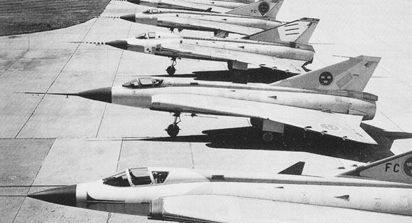 ליין מטוסי דראקן, צילום: aef.se