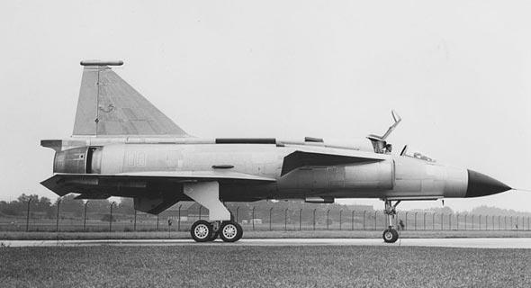 אב טיפוס של מטוס הוויגן