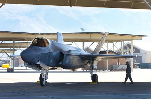 A Lockheed Martin made F-35. Photo: Bloomberg