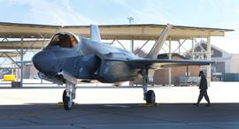 מטוס החמקן F35 של חברת לוקהיד מרטין, צילום: בלומברג