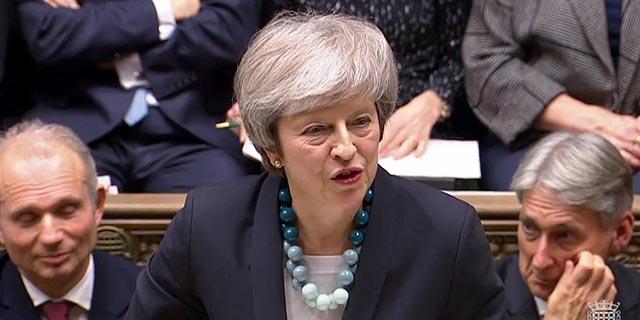 תרזה מיי השבוע בפרלמנט, צילום: איי אף פי