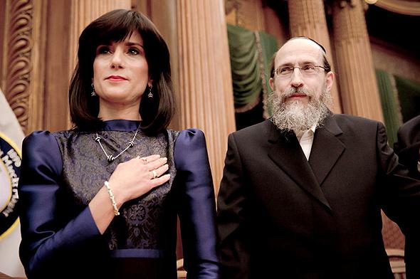 השופטת רחל פרייר ובעלה דוד