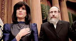פנאי השופטת רחל פרייר ובעלה דוד סרט עזרת נשים, צילום: באדיבות YES