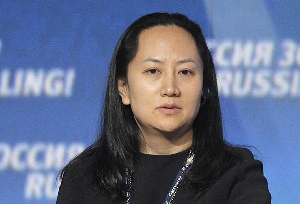 """מנג וואנז'ו, סמנכ""""לית הכספים בוואווי ובתו של המייסד"""