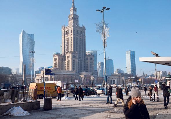 """מרכז העיר ורשה. """"הכל שם נעשה ברמה גבוהה מאוד"""""""