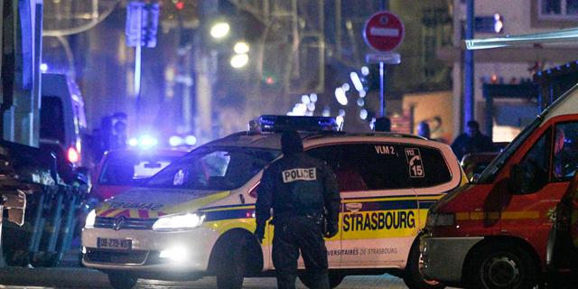 פיגוע הירי אמש בשטרסבורג, צרפת, צילום: איי אף פי