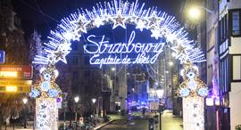 פיגוע ירי שוק חג המולד שטרסבורג צרפת, צילום: אי פי איי