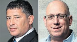 מימין: אבי כץ ו חנן שמש מנהלי קרן הגשמה, צילום: עמית שעל
