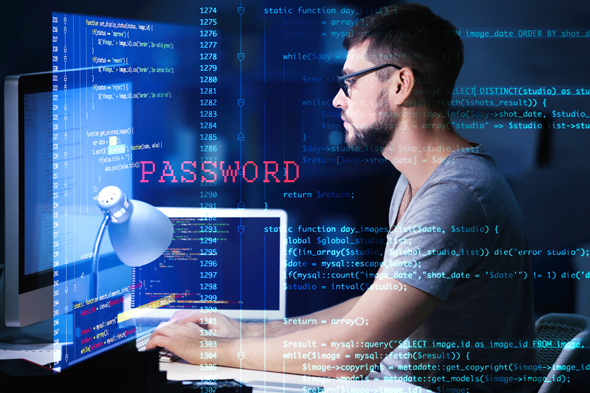Illustrative image of a hacker. Photo: Shutterstock