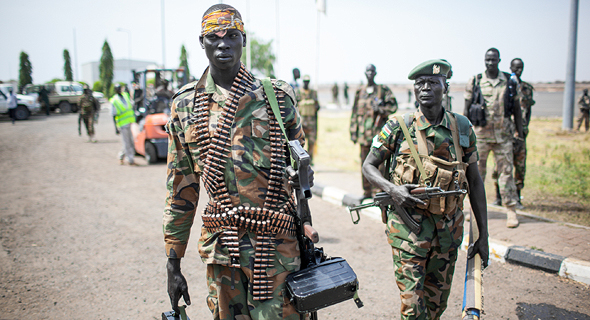 Armed South Sudanese soldiers. Photo: Shutterstock