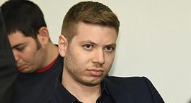 יאיר נתניהו בנו של ראש הממשלה בבית משפט השלום ב תל אביב, צילום: יאיר שגיא