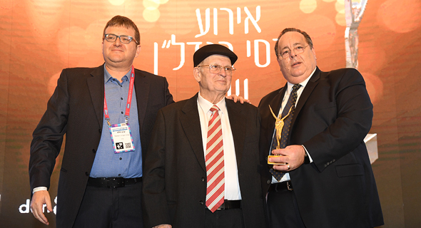 מימין: דורון כהן, אברהם קוזניצקי וערן רולס, צילום: ארן דולב